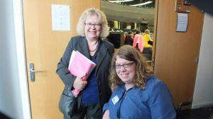 Jean Lambert MEP with Zara