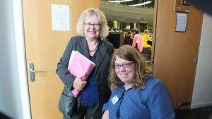 Jean Lambert MEP with Zara