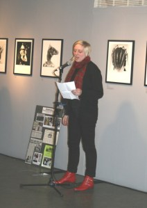 Charlotte Gage speaking