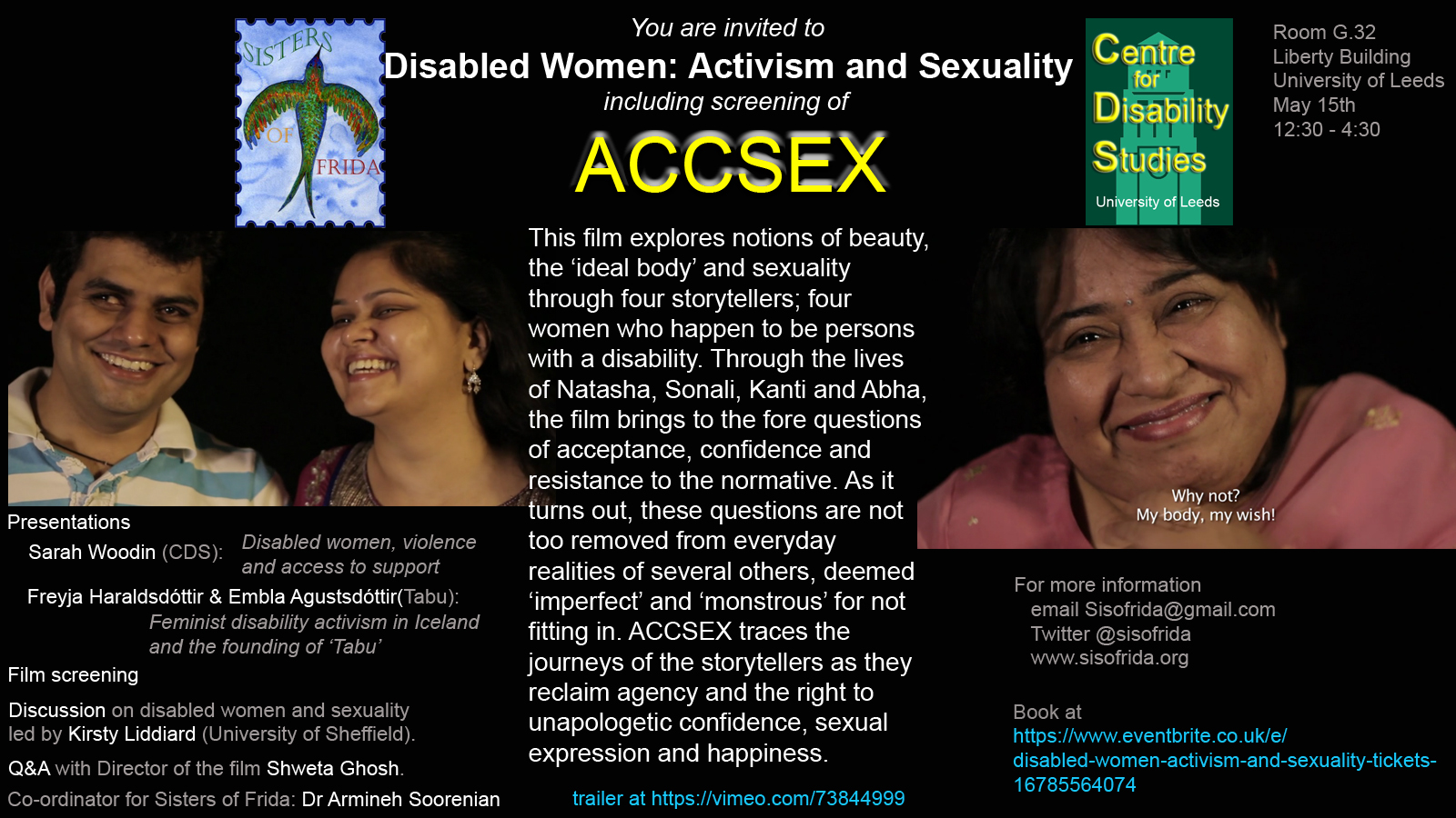 Disability and sexuality documentary